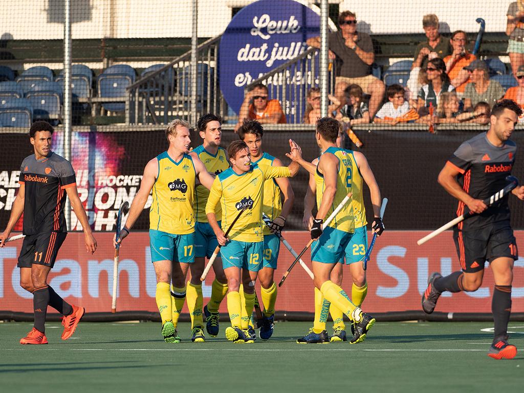 Champions Trophy samenvatting (H): Nederland-Australië 1-3