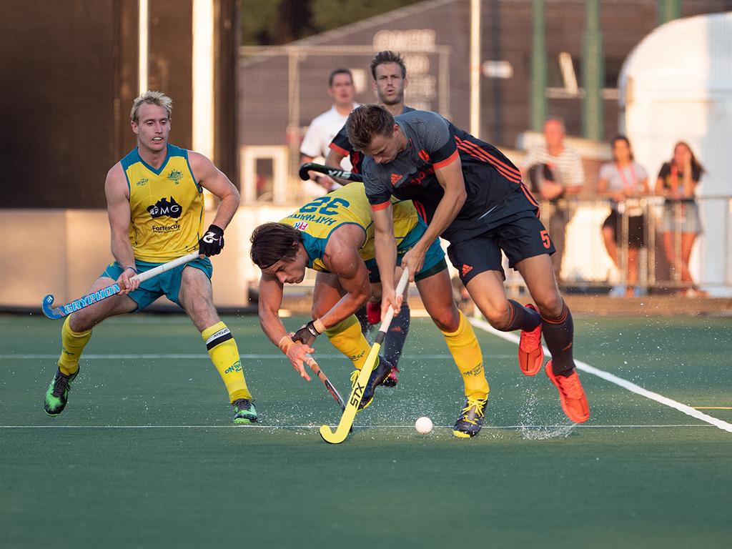 Champions Trophy foto's (H): Nederland-Australië 1-3