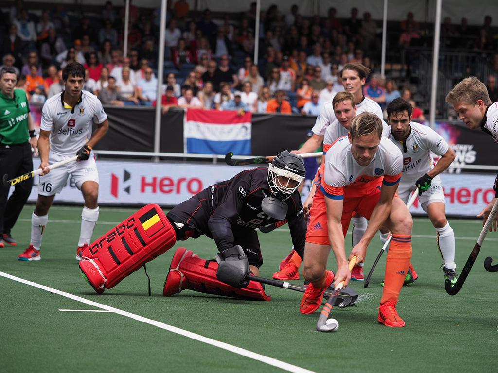 Champions Trophy (H): Nederland walst over België