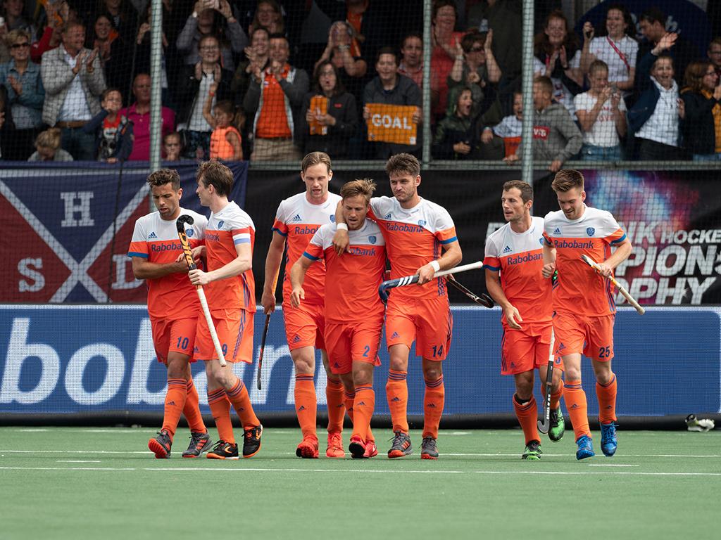 Champions Trophy foto's (H): Nederland-België 6-1