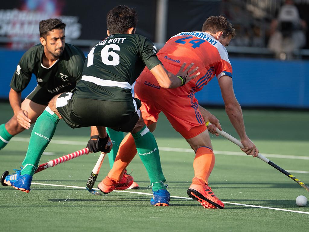 Champions Trophy foto's (H): Nederland-Pakistan 4-0