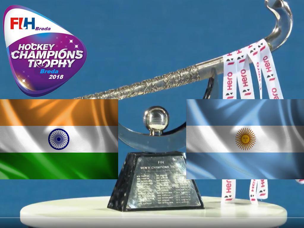 Champions Trophy (H): India te sterk voor Argentinië