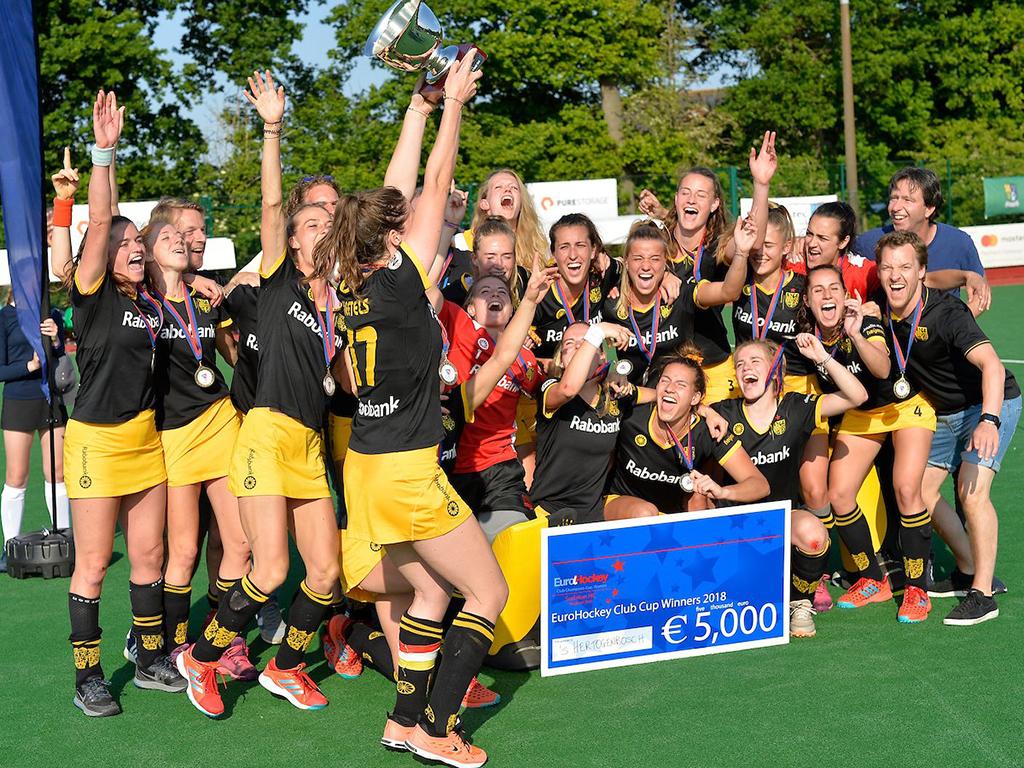 Round-up EHCC: Europese titel Den Bosch, Amsterdam vierde