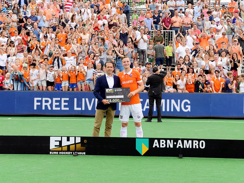 EHL: Individuele prijs voor Floris Wortelboer