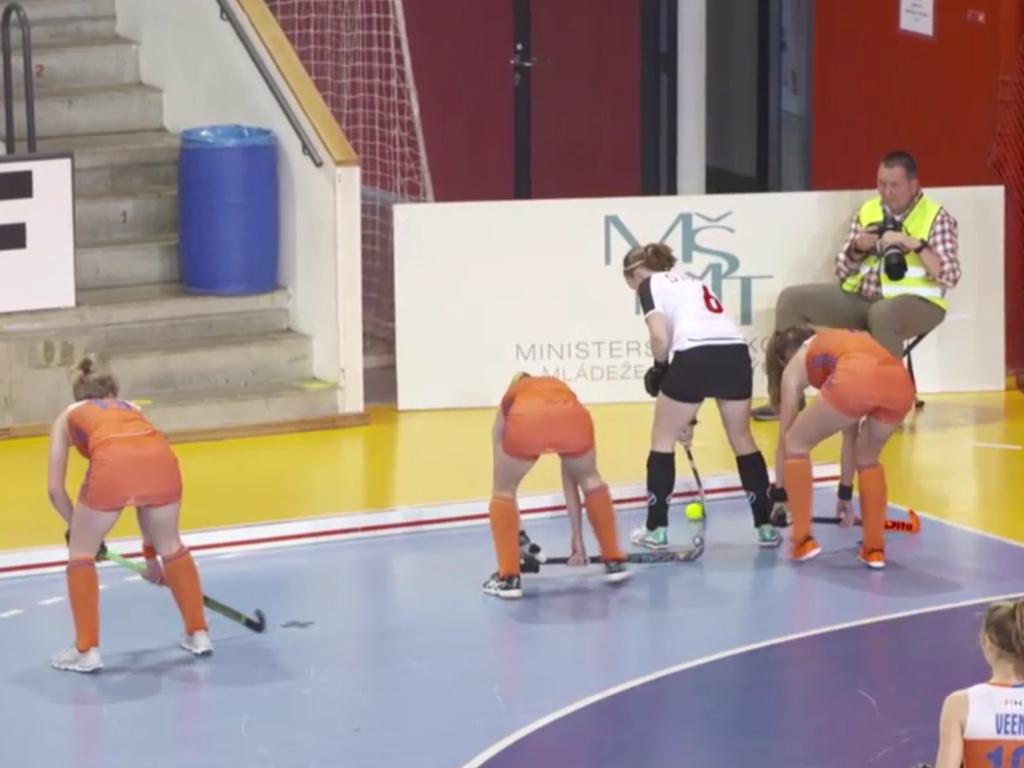 EK Zaal video (D): Nederland-Zwitserland (2-3)