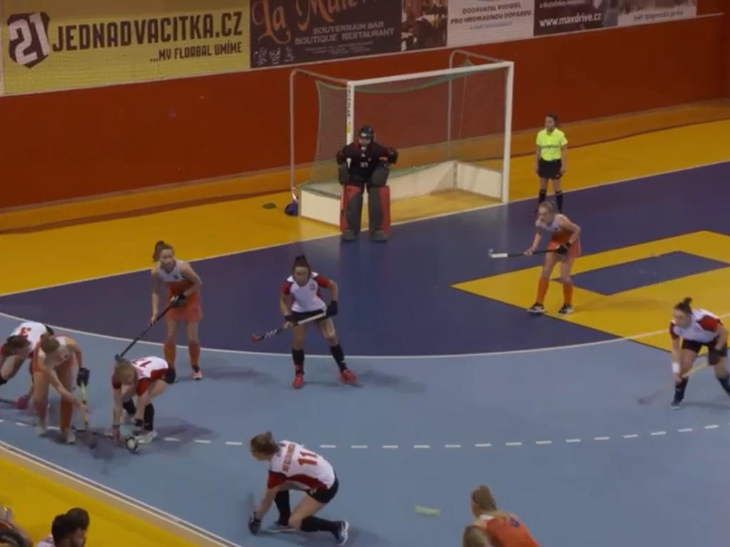 EK Zaal video (D): Doelpunten Polen-Nederland (1-4)