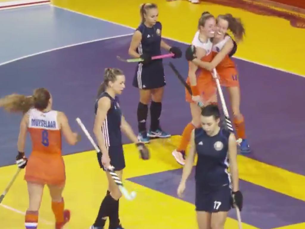 EK Zaal video (D): Doelpunten Nederland-Wit-Rusland (7-2)