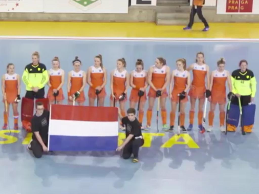 EK Zaal video (D): Doelpunten Duitsland-Nederland (1-1)