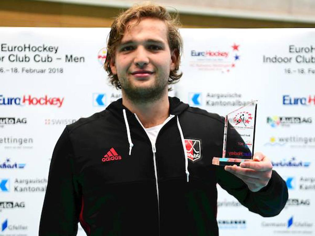 Europacup Zaal (H): Philip van Leeuwen in de prijzen