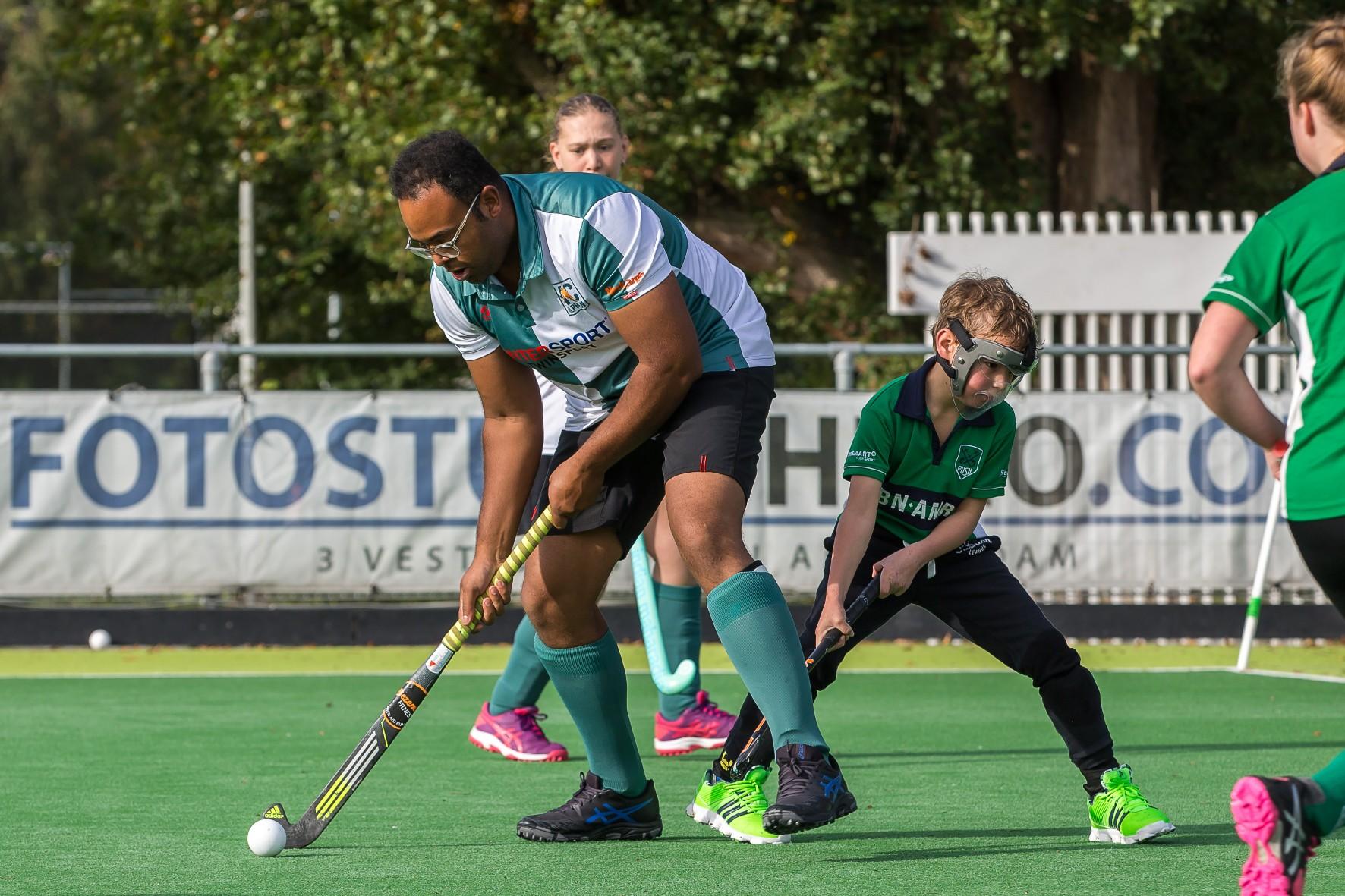 G-Hockey en korfbaltoernooi van Fonds Gehandicaptensport en Simpel in foto's: