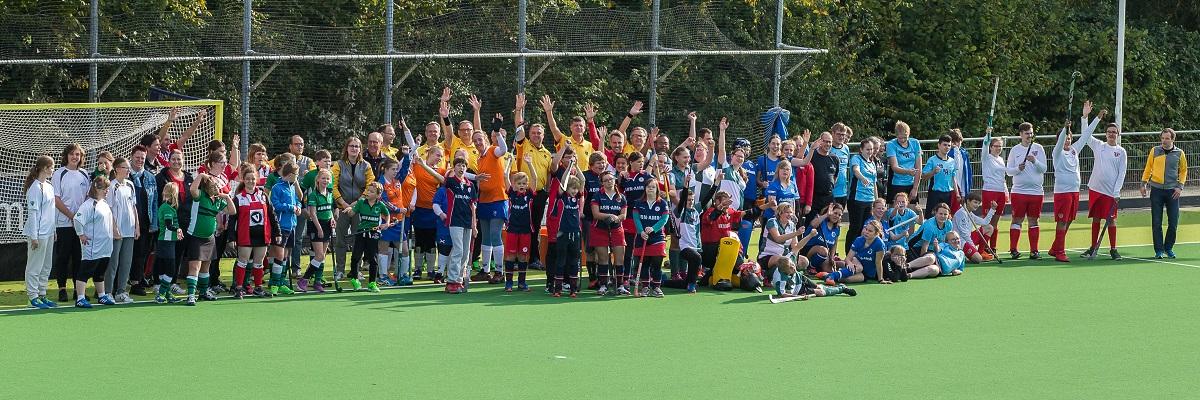 Unieke G-Hockey- & Korfbaldag tijdens de ABN AMRO Cup op HC Rotterdam