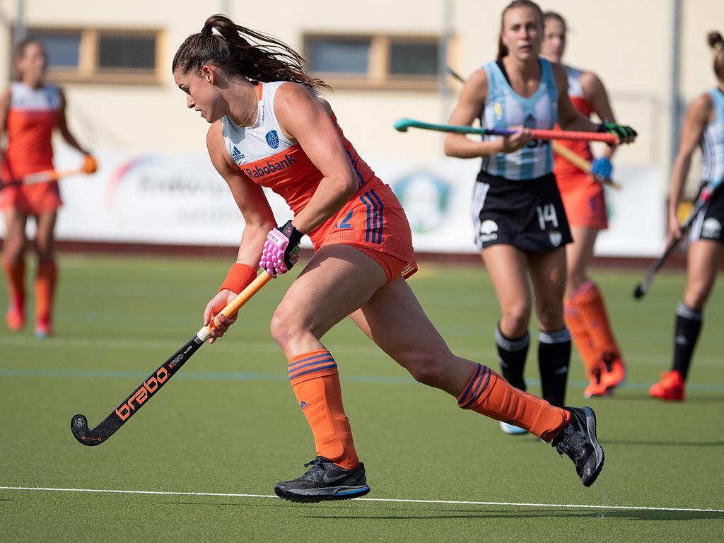 Preview Pro League (D): Oranje Dames bij winst op Argentinië zeker van eerste plek