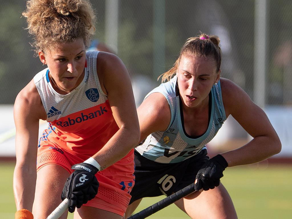 Nederlandse dames winnen kraker tegen Argentinië in Buenos Aires