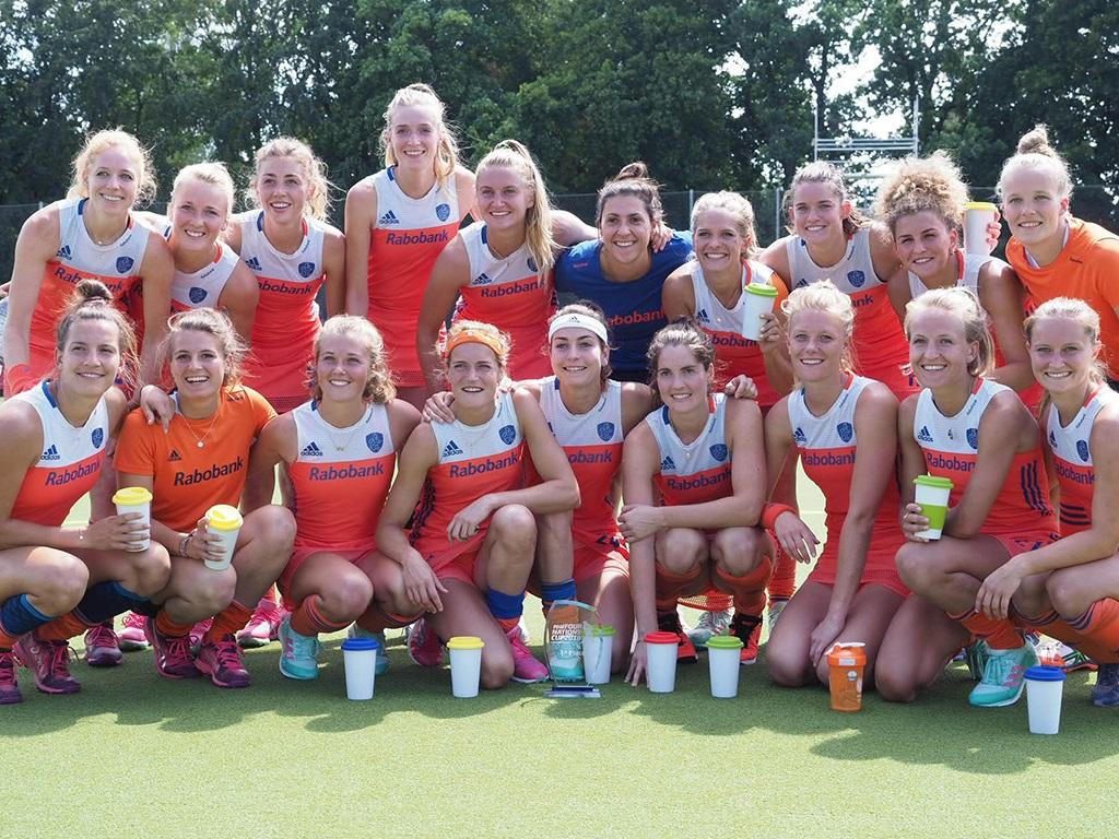 Four Nations Cup (D): Oranje verslaat Duitsland en wint toernooi