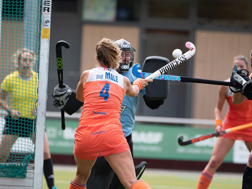 Four Nations Cup foto's (D): Nieuw-Zeeland-Nederland 1-3