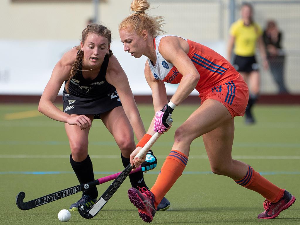 Margot van Geffen voelt zich fit en trekt de Oranjekar in de afgelopen Pro League wedstrijden