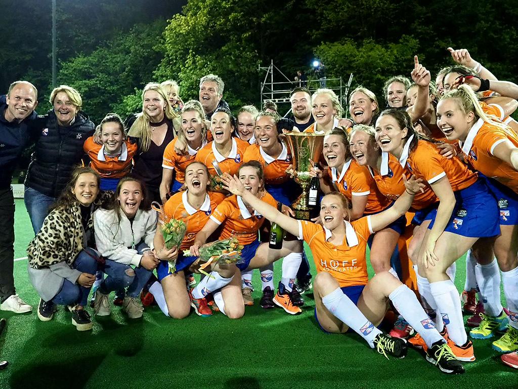 Gold Cup (D): Bloemendaal verslaat hdm in finale