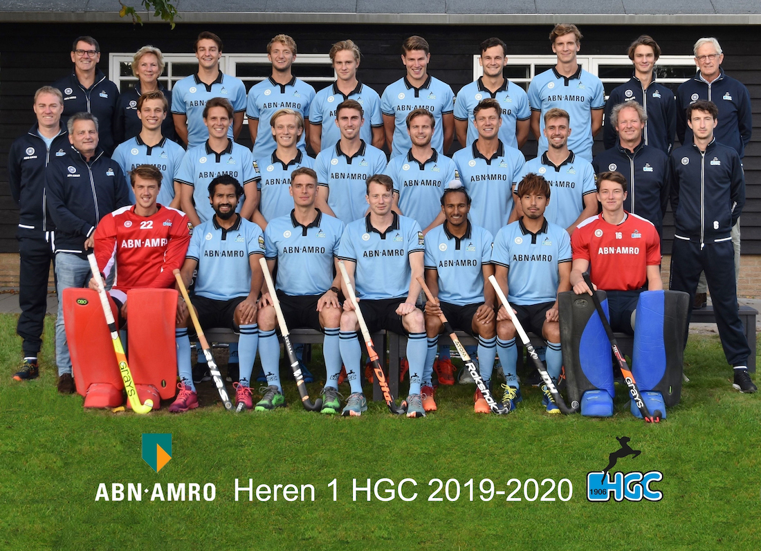 Teampresentatie HGC Heren 2019-2020