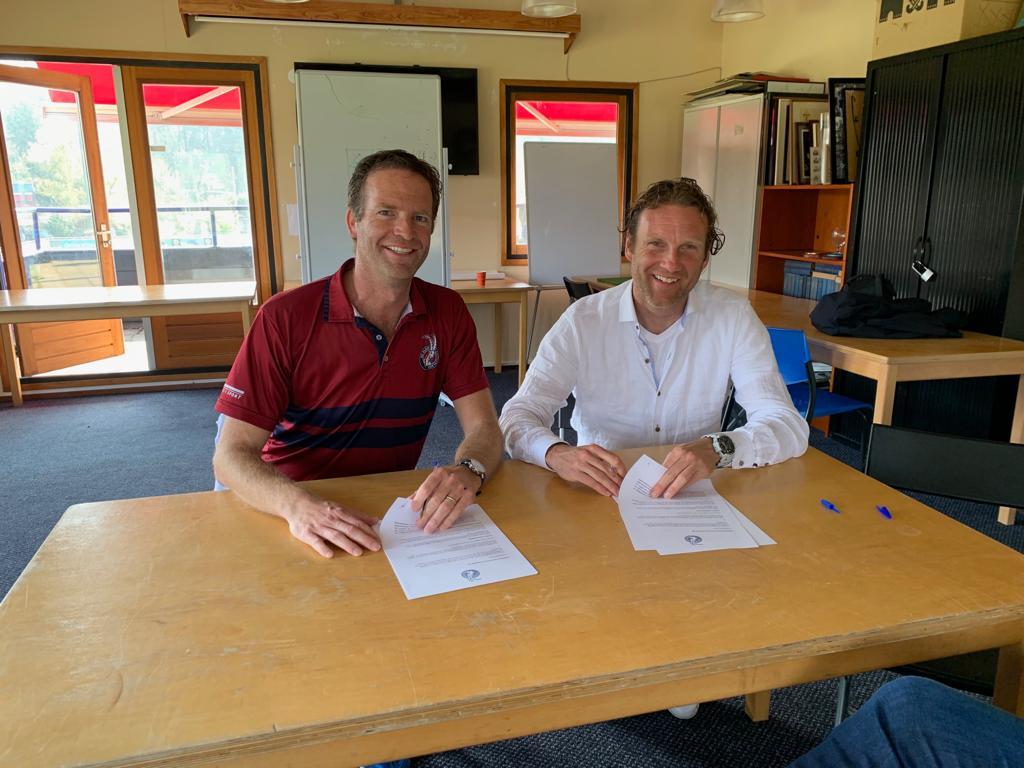Jorge Nolte nieuwe coach van Dames 1 van Klein Zwitserland