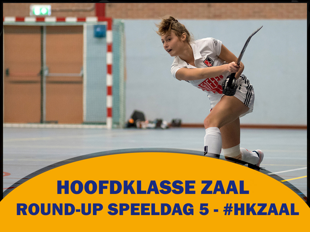 Round-up HK Zaal (D): Geen play-offs voor Amsterdam