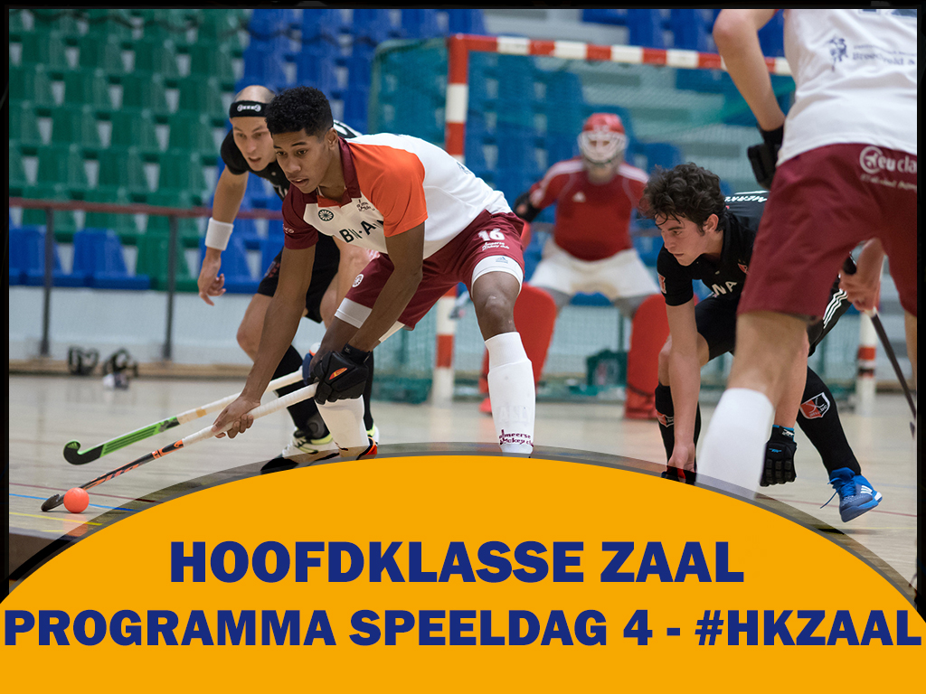 HK Zaal (H): Programma vierde speeldag