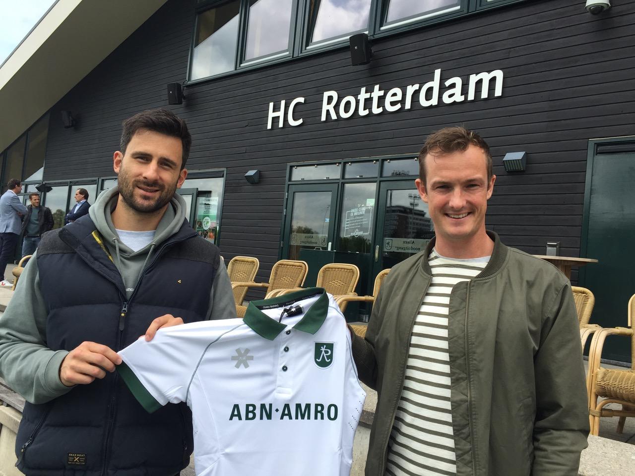 HC Rotterdam presenteert twee nieuwe aanwinsten voor Heren 1: Hugo Inglis en Kane Russel