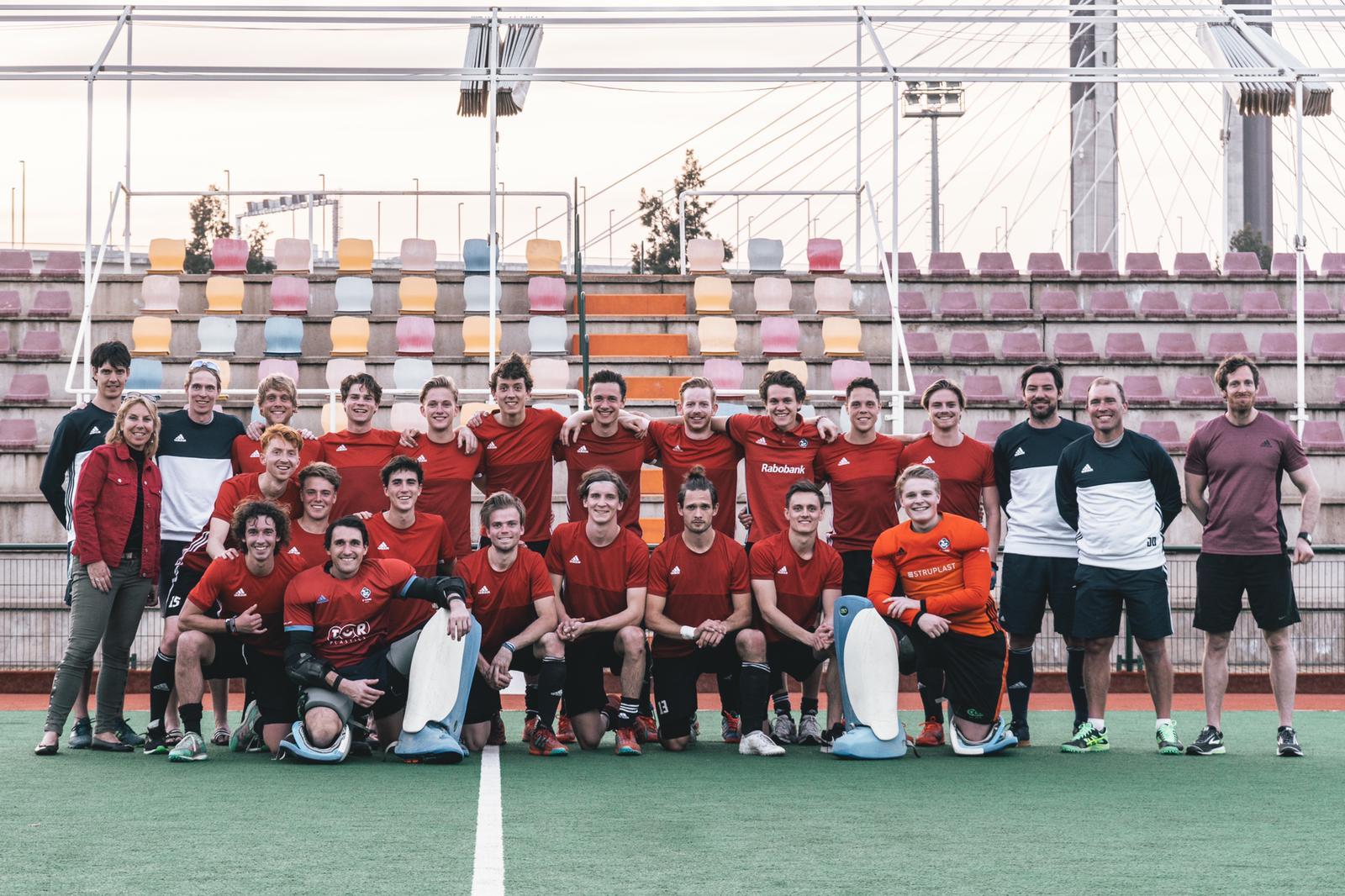 Hockeyclub Tilburg vecht met de heren tegen degradatie
