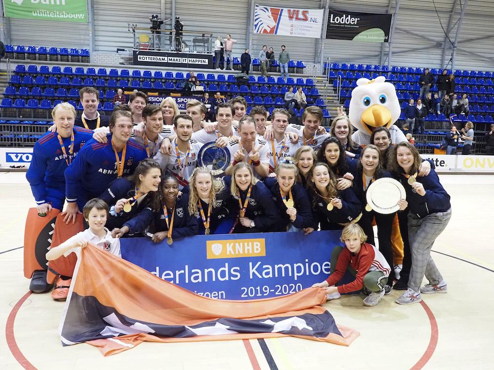 Laren en Amsterdam Nederlands kampioen zaal