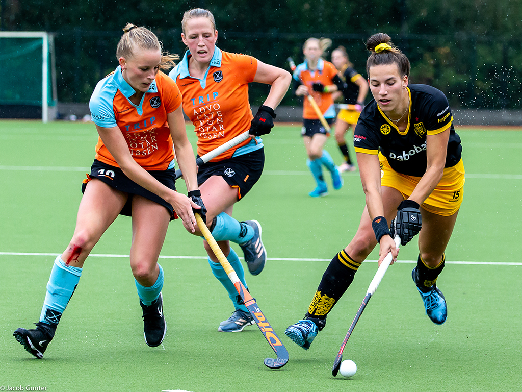 Groningen-speelster Marle Brenkman: 'Ik kon vroeger eigenlijk nog niet zo heel goed hockeyen'