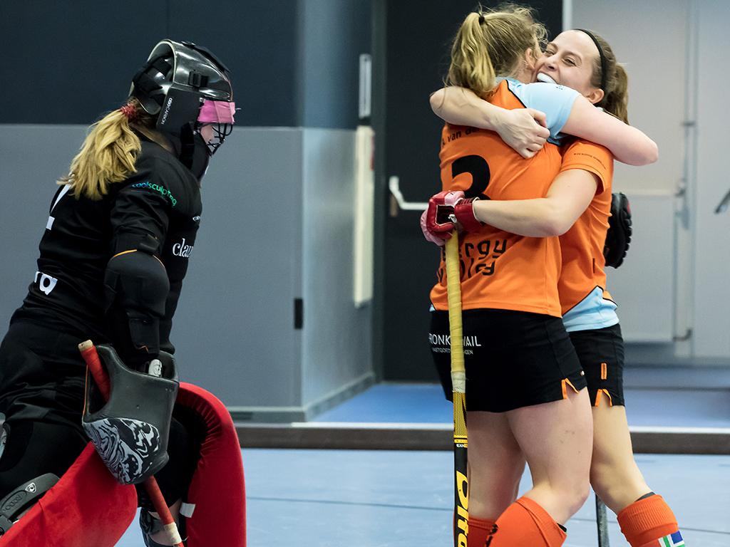 Nacompetitie HK Zaal (D): Groningen-Huizen 5-1