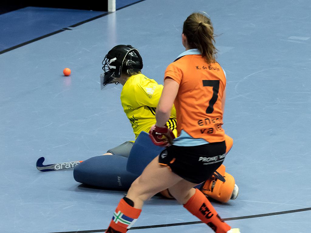 Nacompetitie HK Zaal (D): Groningen-Pinoké 3-1