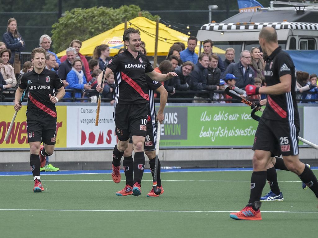 Play-offs HK (H): Amsterdam dwingt derde duel af tegen Kampong