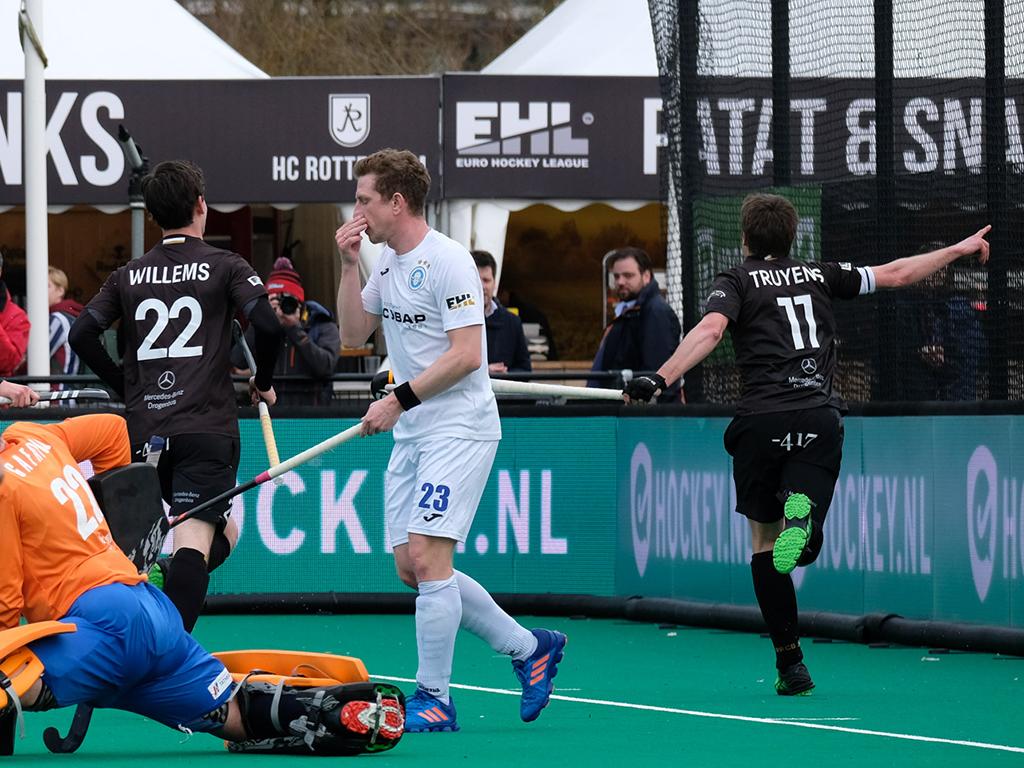 EHL foto's: Racing Club de Bruxelles-Dinamo Kazan 9-0