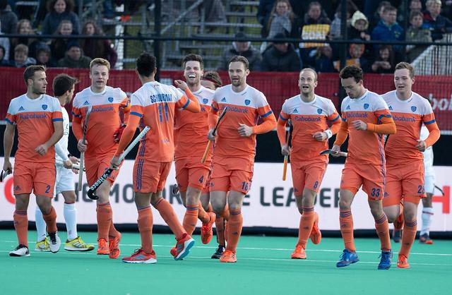 Nederlandse Heren doen wat zij moeten doen en winnen van Spanje