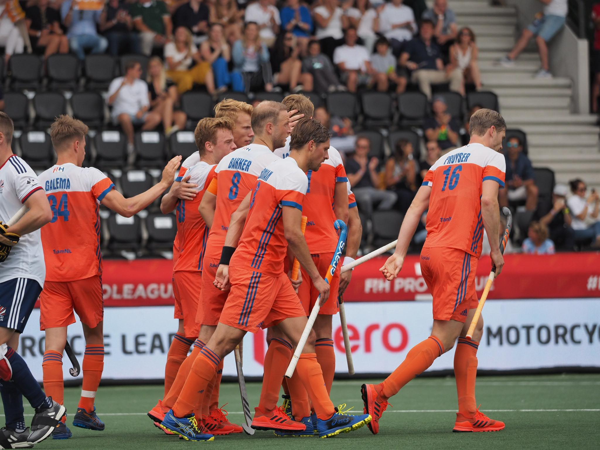 Round-up troostfinale FIH Pro League (H): Oranje pakt brons ten koste van Groot-Brittannië na doelpuntrijk duel
