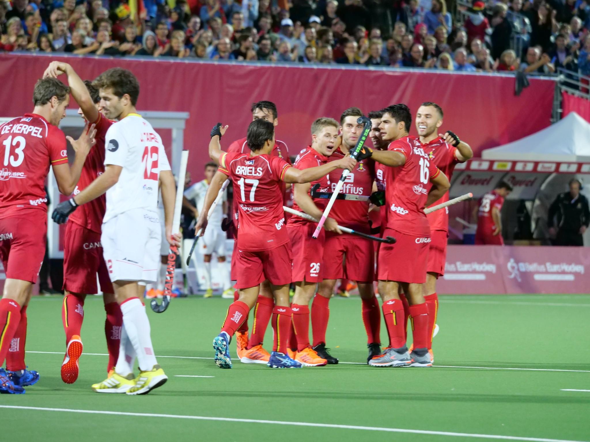 EK Hockey (H): België wint met een riante score het openingsduel (Eindstand 5 - 0)