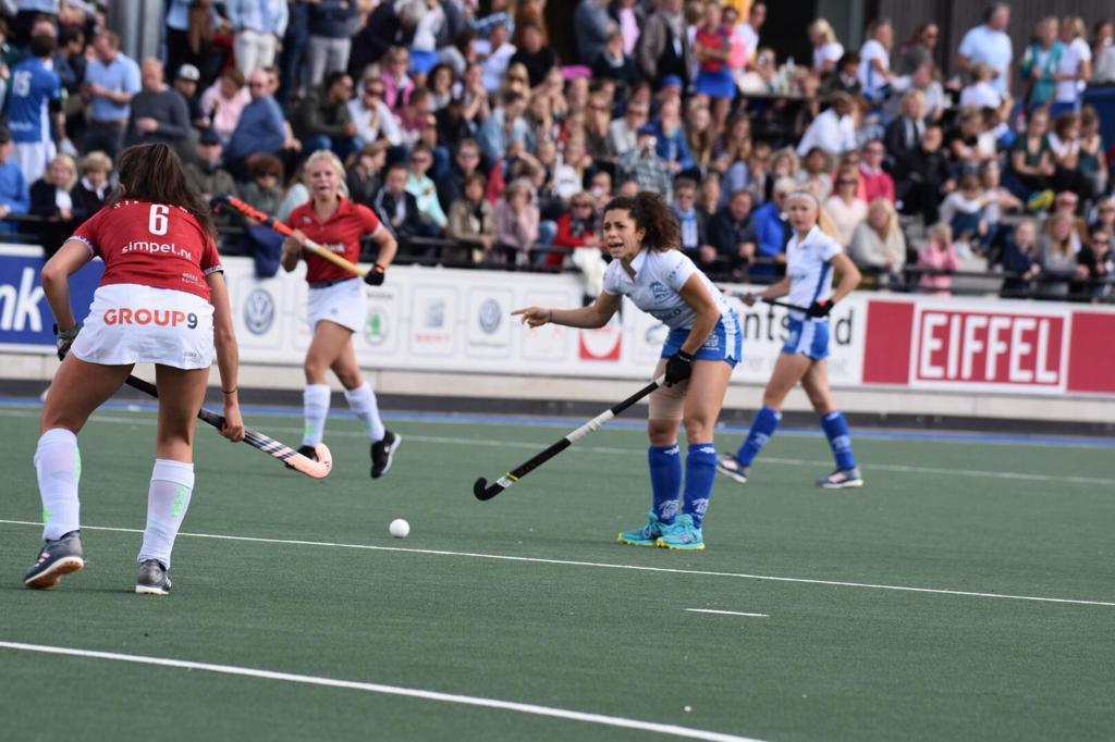 Georgina Oliva neemt na vier jaar hockeyen bij Kampong afscheid van Nederland