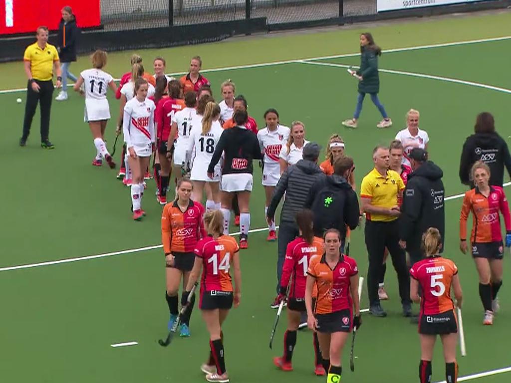 Play-offs HK samenvatting (D): Oranje-Rood-Amsterdam 0-3