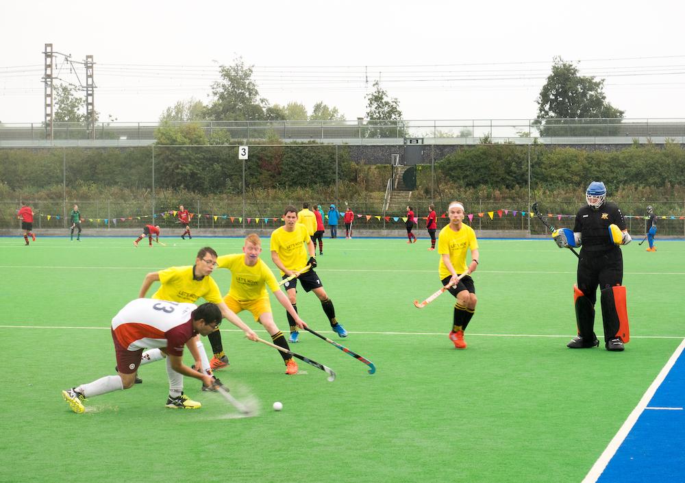 International Nanne Koene: 'Het G-hockey Toppertoernooi in Almere is een van de grotere toernooien voor ons'