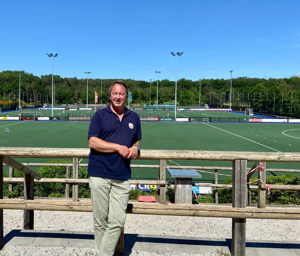 Reinoud Imhof is voorzitter van Schaerweijde en is trots op zijn groep vrijwilligers en jeugdopleiding.