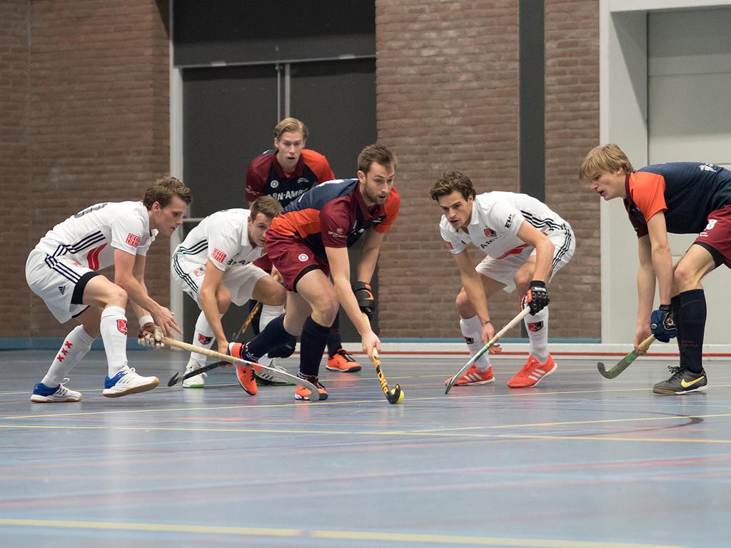 HK Zaal foto's (H): Amsterdam-Almere 4-1