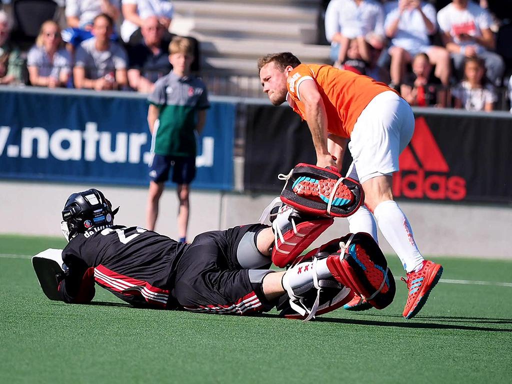 Play-offs HK samenvatting (H): Amsterdam-Bloemendaal 5-5