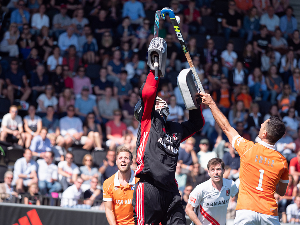 Play-offs HK (H): EHL-ticket inzet voor Oranje-Rood en Bloemendaal