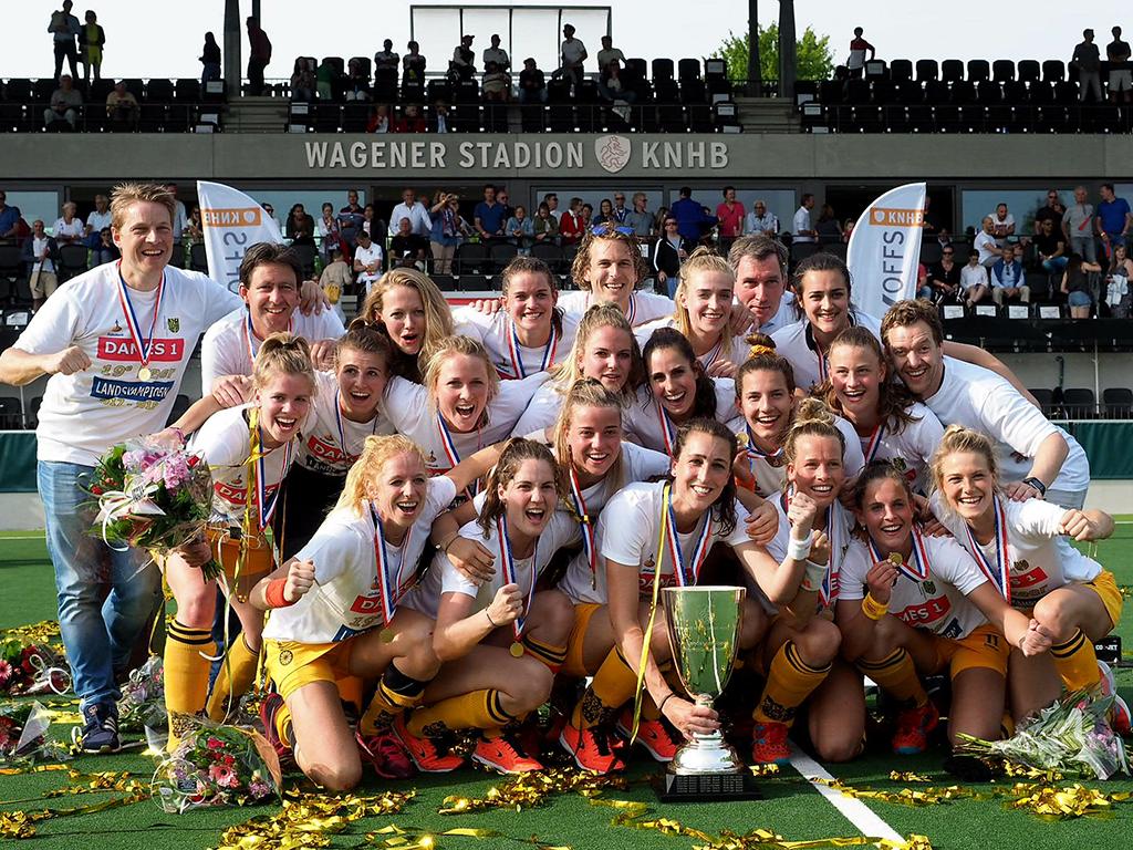 Play-offs HK samenvatting (D): Amsterdam-Den Bosch 1-4