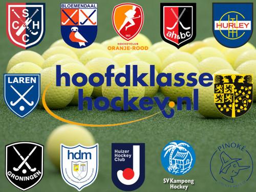 Round-up Livera HK (D): Den Bosch verstevigt koppositie, Oranje-Rood pakt overwinning op bezoek bij Laren