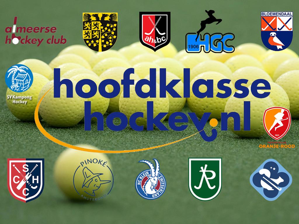 Round-up HK (H): HGC maakt gehakt van Amsterdam, Tilburg boekt eerste overwinning in degradatieduel