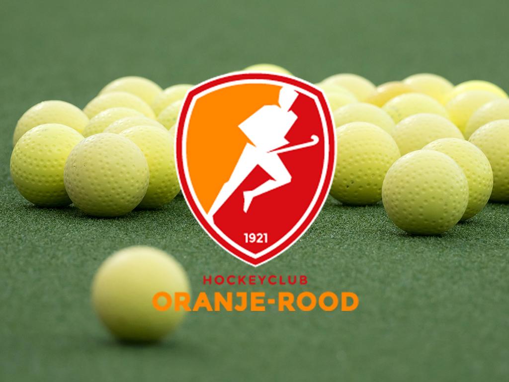 HC Oranje-Rood verlengt de contracten van een vijftal spelers