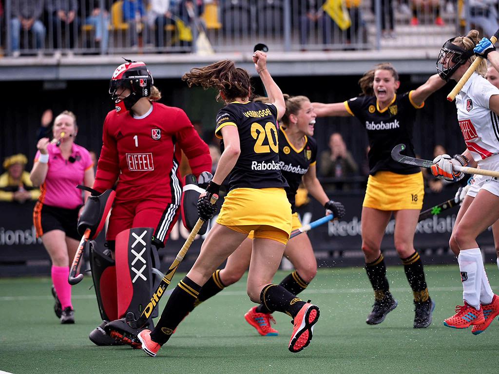 Play-offs HK (D): Den Bosch wint eerste duel van Amsterdam