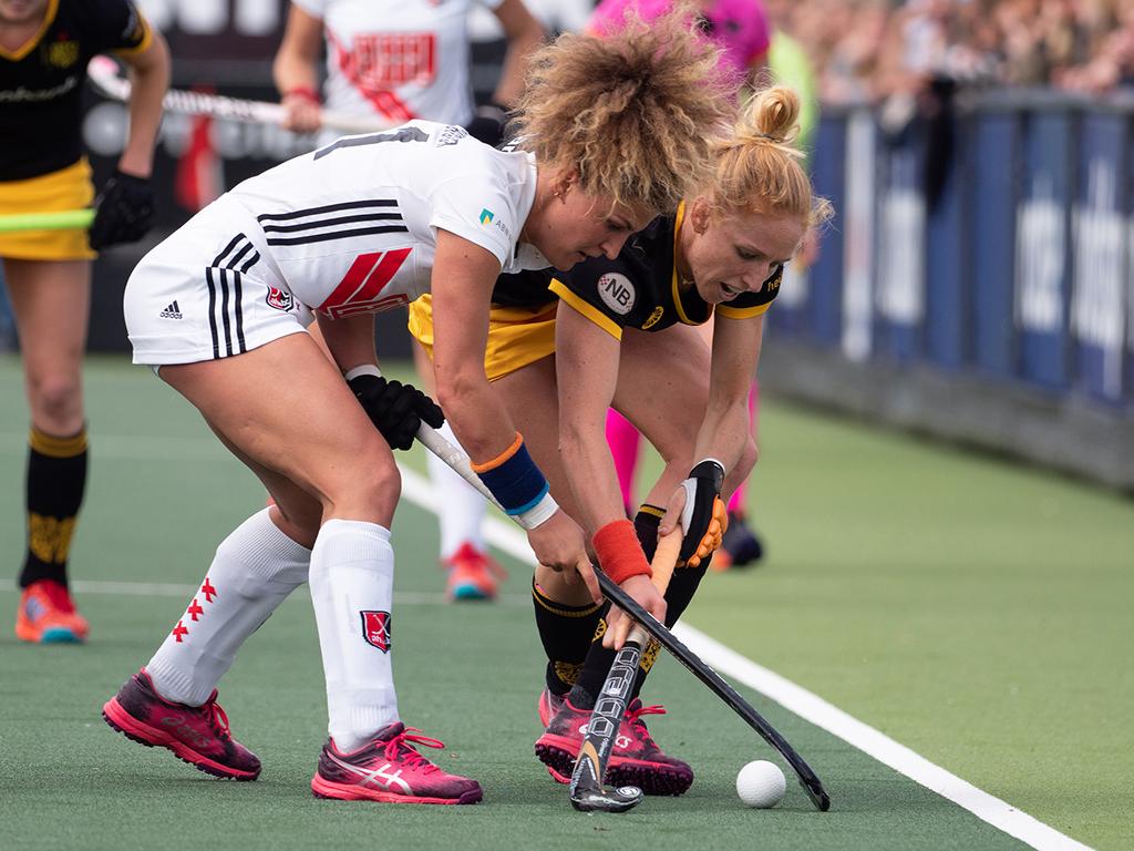 Play-offs HK samenvatting (D): Den Bosch-Amsterdam 3-2