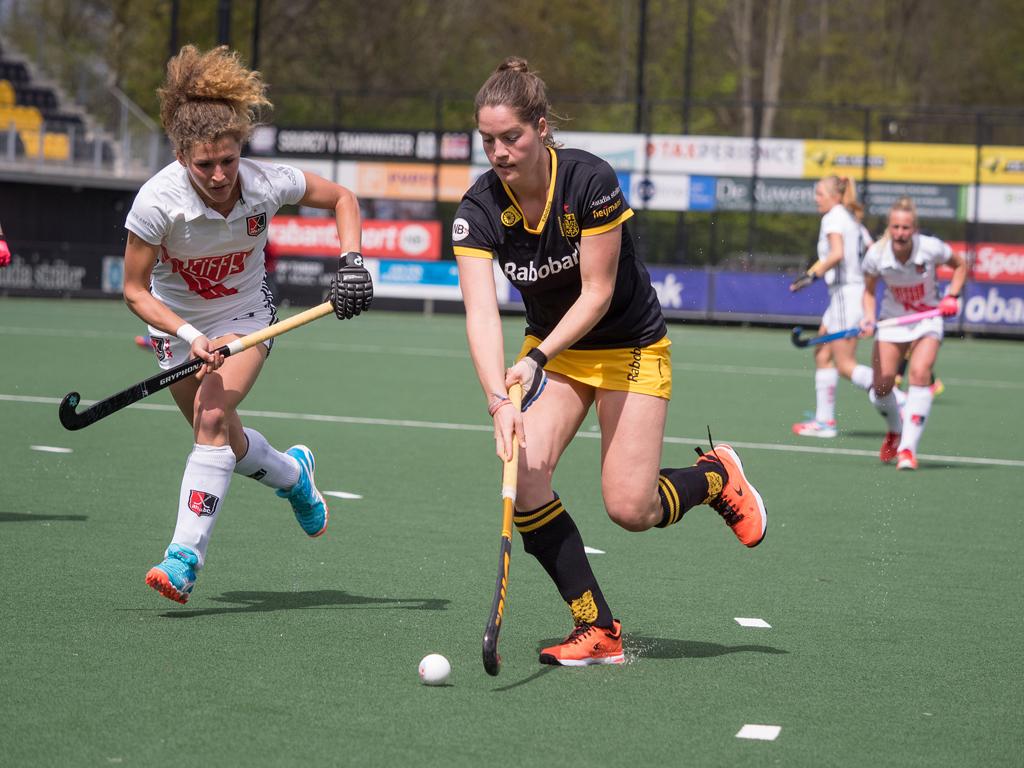 Play-offs HK (D): 13de finale tussen Den Bosch en Amsterdam